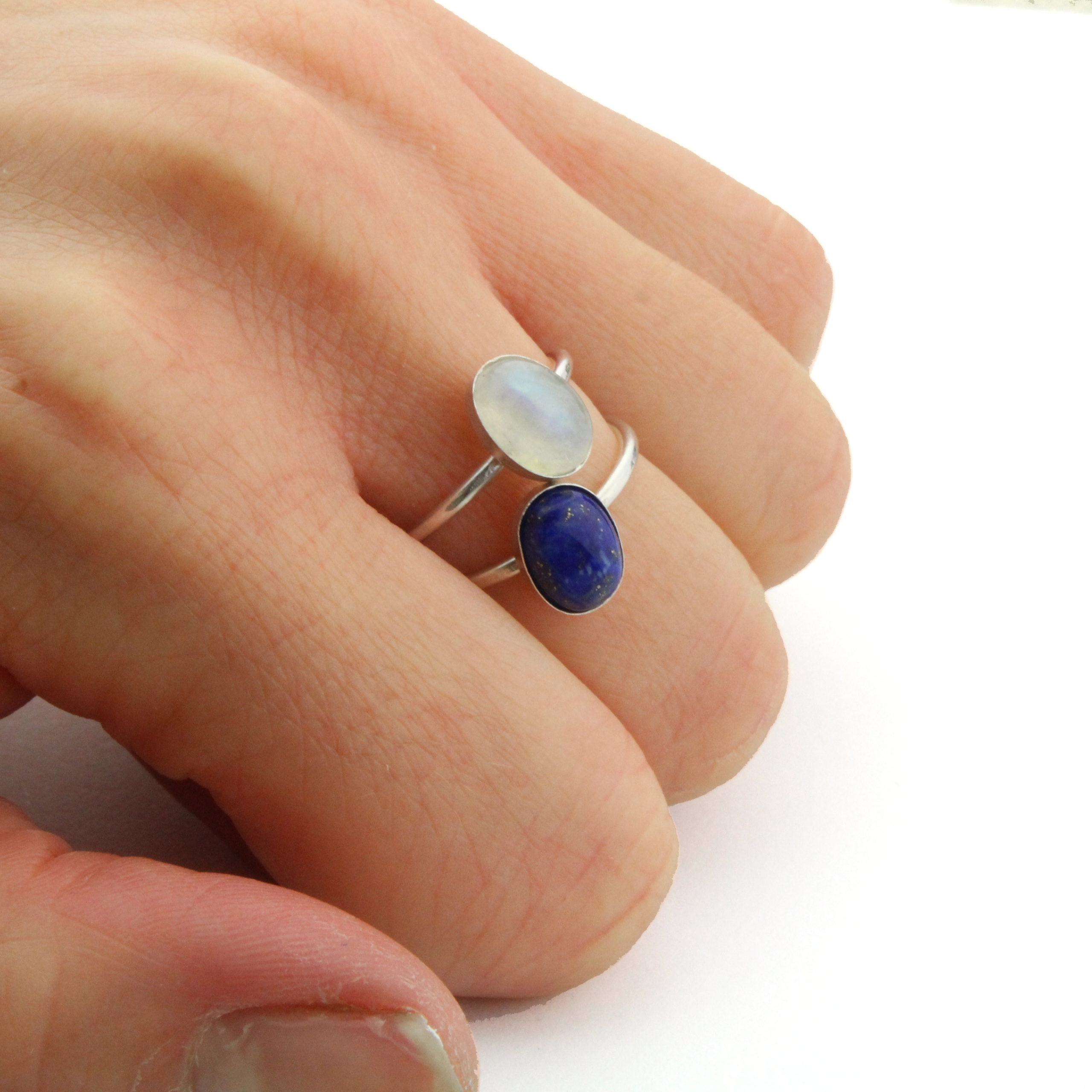 rings rainbow shop products sterling boho dixi ring silver nightshade share moonstone