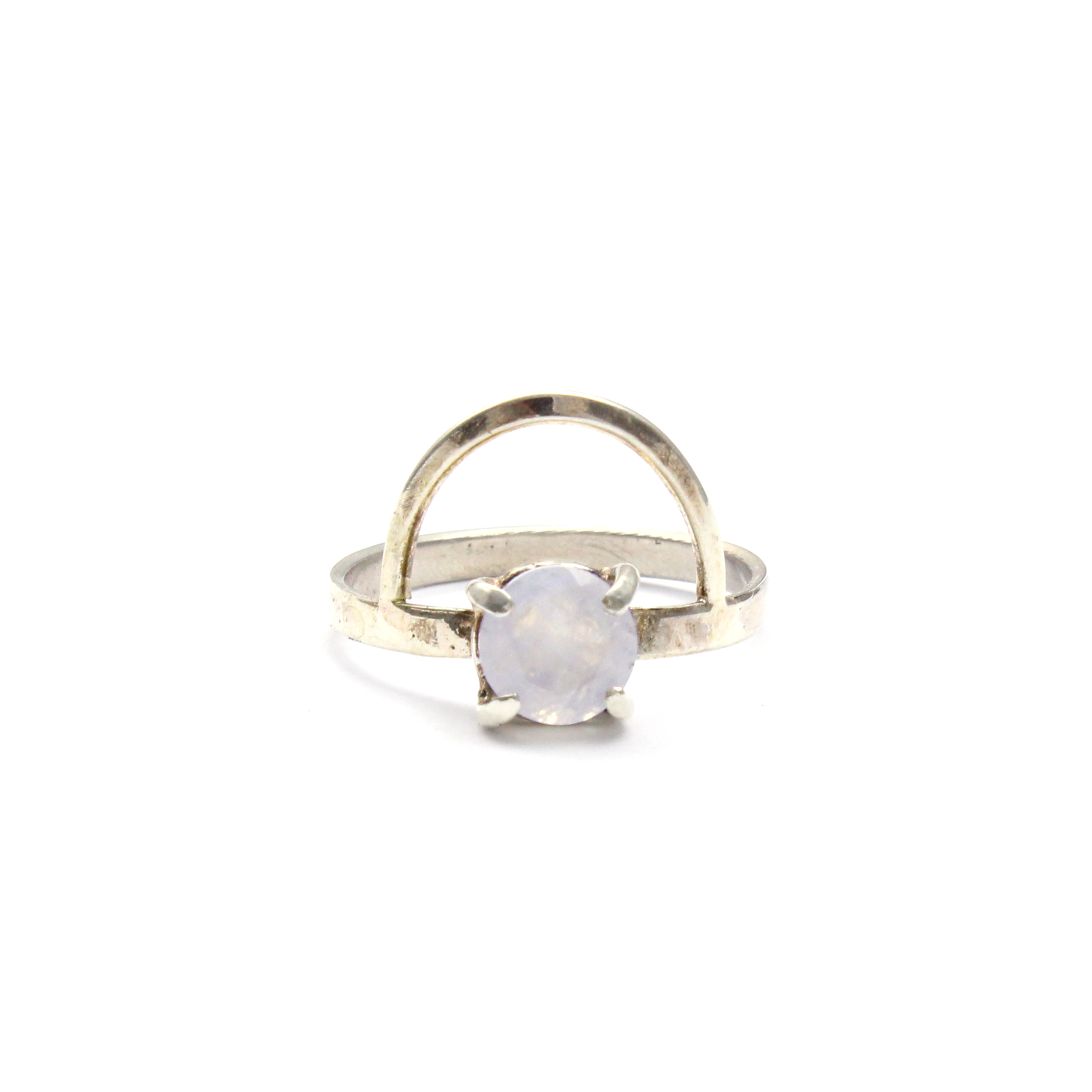 great stone rings frog ring product setting decorative angled the moonstone