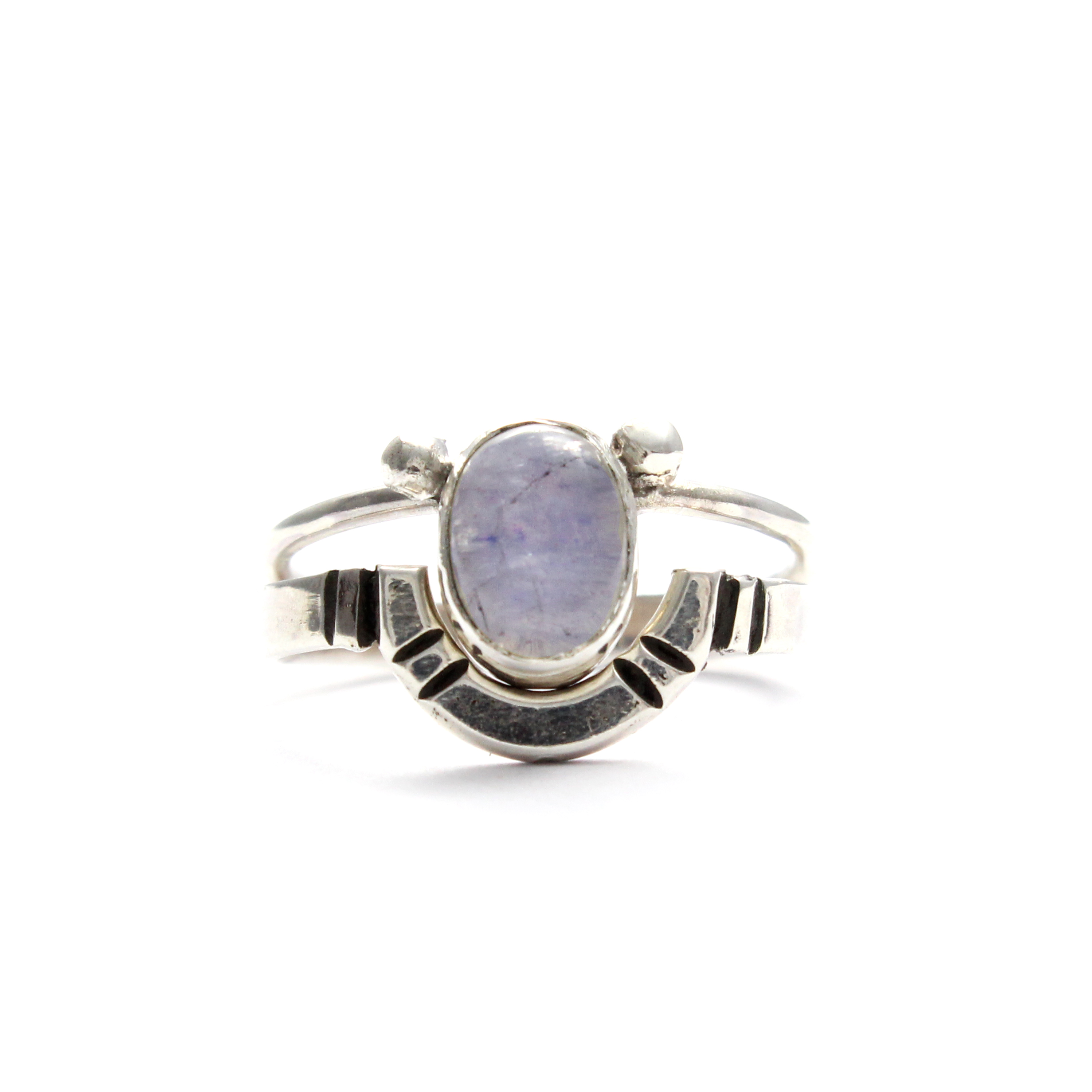 moon plated moonstone gold jp rainbow products rings ring new
